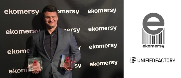 Unified Factory podwójnie nagrodzona w konkursie Ekomersy 2017