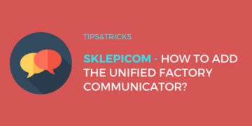 Sklepicom: How to embed the Unified Factory Communicator?