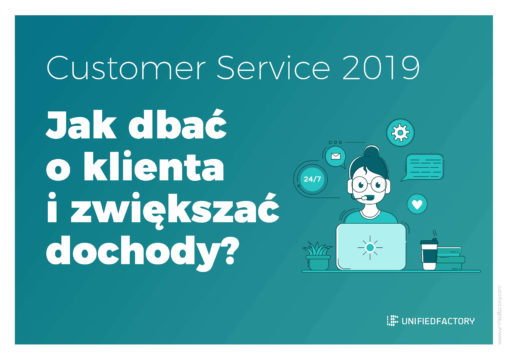Customer service okładka